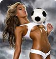 Benchwarmer Football Girl - игровые слоты в казино Вулкан